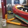 A7 custom 2 post garage lift