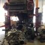 Mobile Columns at Ford Dealership