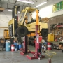 MP Used as Fork Lift Service Lift