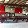Mohawk flush mount parallelogram truck lift