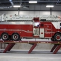 Mohawk flush mount parallelogram fire truck lift