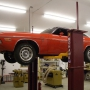 Mohawk 2 post car lift shown at home shop