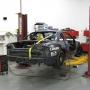 Mohawk 2 post auto lift at SEMA garage