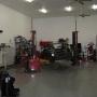 Mohawk 2 post automobile lift at SEMA garage