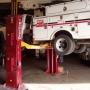 Two post automotive lift