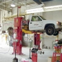 Two post truck lift