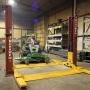 Two Post Vehicle Turf Maintenance Lift