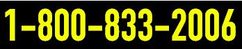 Toll Free 1-800-833-2006