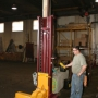 2 post fork lift hoist