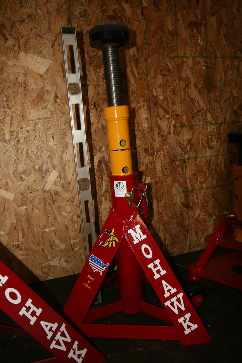Jack Stands Mohawk Lift Pics