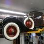 Mohawk 2 post car lift shown at home shop