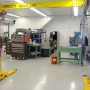 Mohawk automotive lift shown installed with low ceiling