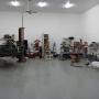 Mohawk 2 post vehicle lift at SEMA garage