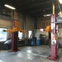Mohawk's tw0 post garage lift