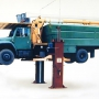 Mohawk's 2 post truck lift