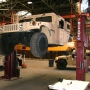 Mohawk's truck lift shown at military base