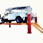 Four Post Lift for Utility Truck