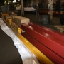 RUNWAYS AND COLUMNS PACKED FOR SHIPMENT